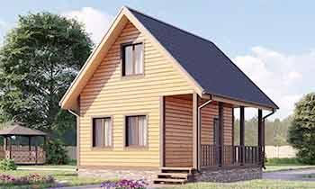 Дом из бруса 6x6