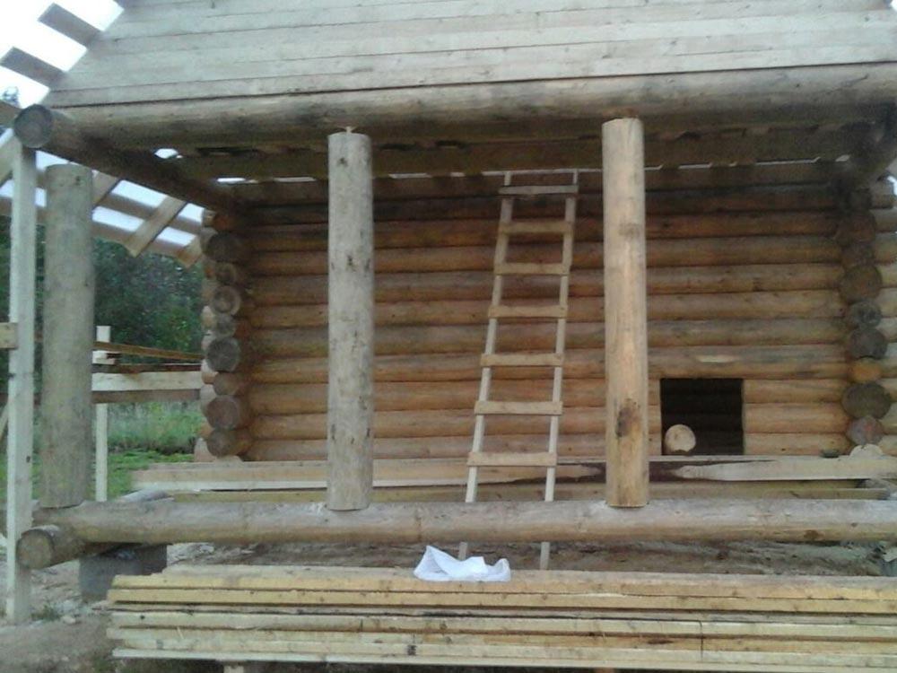 Дом из бревна